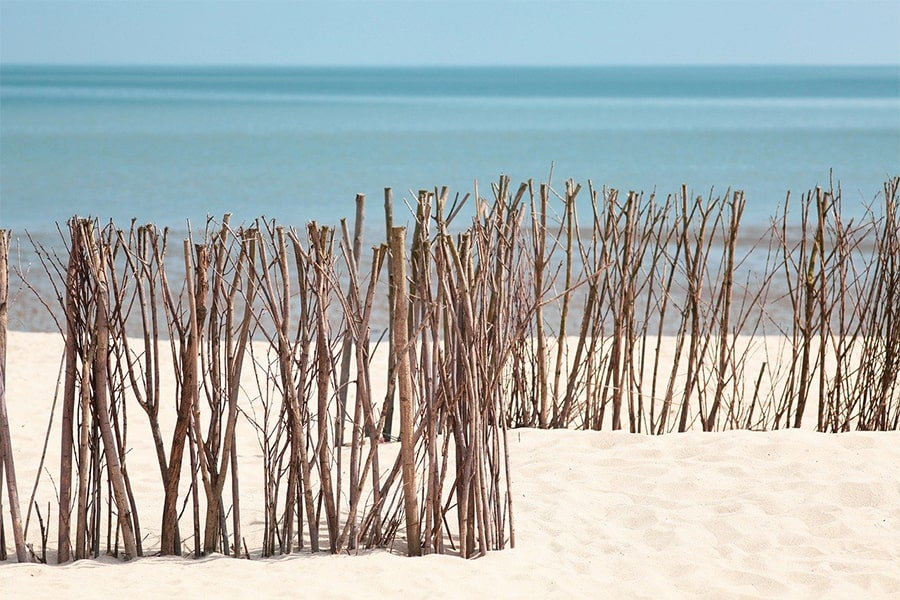 Stress af i sandet